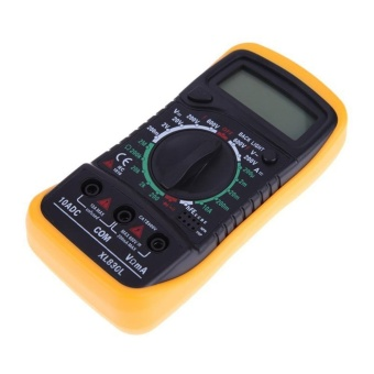 niceEshop Digital Multimeter Multi Tester HOLDPEAK 838LManual-Ranging Multi Tester With Non Contact Voltage Test