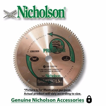 "Nicholson 14"" 120 teeth Circular Saw Blade 14x120T Price Philippines"