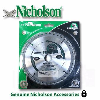 "Nicholson 7-1/4"" 40 teeth Circular Saw Blade 7x40T Price Philippines"
