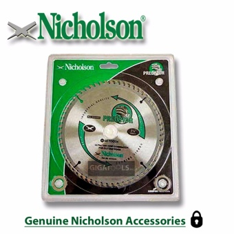 "Nicholson 7-1/4"" 60 teeth Circular Saw Blade 7x60T Price Philippines"