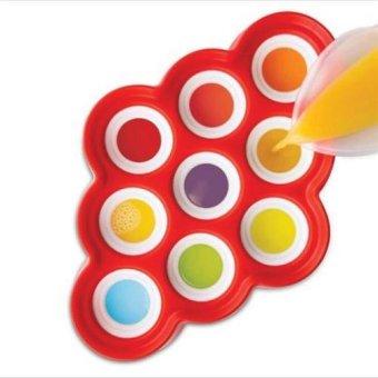 Nine Grid Silicone Push Up Ice Cream Jelly Lolly Mini Pops PopsicleMaker Yogurt Mold - intl - 4
