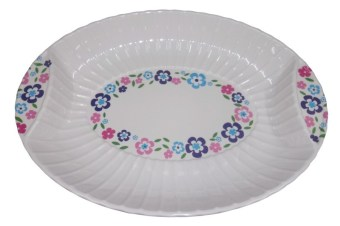 Nippon Ware S1573-C Oval Tray (White)