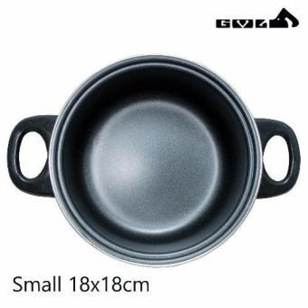 No Tempered Glass Cover Pot Non Stick Cookware Set 1 Small 18cm - 2