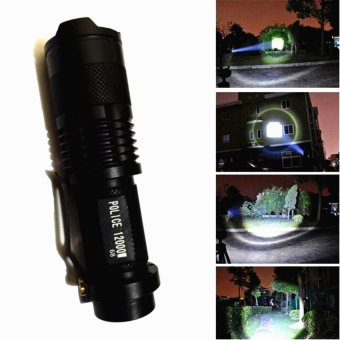 No.98 Type Rechargeable Cree LED Flashlight