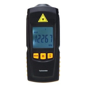 Non-contact GM8905 Digital Laser Tachometer Tach Meter Tester Wide Measuring Range 2.5-99999RPM LCD Display - intl