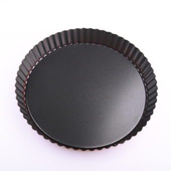 Non-Stick 9 Inches Round Quiche Pie Tart Oven Pan Mold RemovableLoose Bottom Pastry Home Baking Mold