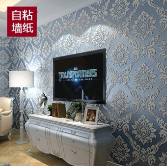 Non-woven cloth European self-adhesive Wallpaper