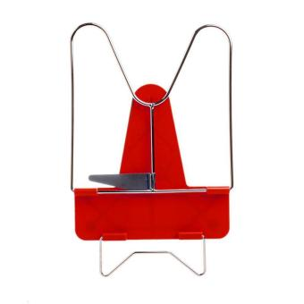 Novelty Adjustable Angle Foldable Reading Book Stand Holder - intl