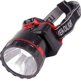 NS-282 LED Head Lamp (Red/Black)