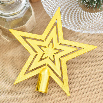 Nuo Qi Christmas tree top star Christmas five point star