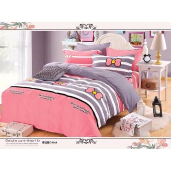 O -PH Good Quality BedSheet Cotton Classic Design BS-06 (Double)