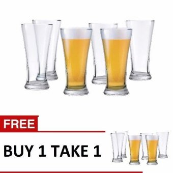 Ocean Glassware Pilsner Tumbler 7oz. Set of 12