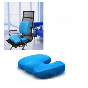 Office Chair Orthopedic Seat Cushion Release Pillow Memory Foam Back Ache Pain NEW - intl