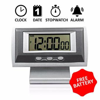 Office Personal Desk Digital Clock Alarm Clock Mini Quartz DigitalClock With Timer and Alarm Bell