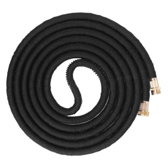 OH Durable Garden Hose Expandable Magic Flexible Water Hose For Home And Garden Black 25FT7.5m - intl