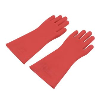 OH Insulated 12kv High Voltage Electrical Insulating Gloves For Electricians