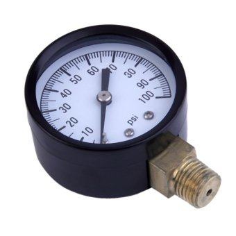 OH Simmons 1305 0-100 PSI 1/4' Well Pump Water Pressure Gauge TS50-100PSI