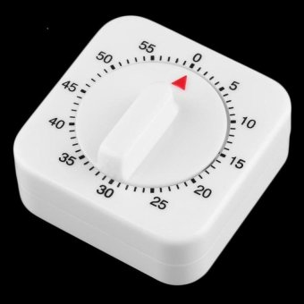 Oh Square 60 Minute Mechanical Kitchen Cooking TimerFoodpreparation Baking - intl