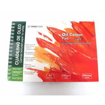Oil Colour Pad or sketch book A4
