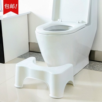 OJ toilet squatting squatting stool stool stool pad children stool squatting stool stool toilet stool stool slip adult constipation - intl
