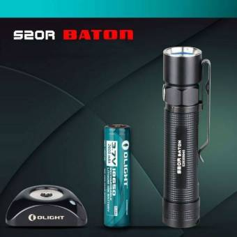 Olight S20R Baton CREE XM-L2 4Modes Rechargeable EDC LED Flashlight- intl Price Philippines