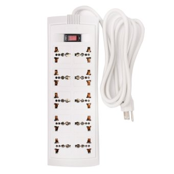 Omni 10-Gang Universal Outlet Extension Cord