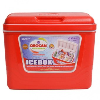 Orocan 9215 Ice Cooler 15 Liters Box (Red)