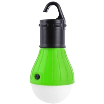 Outdoor Hanging LED Camping Lamp Tent Night Light Bulb (Apple Green) - intl Price Philippines