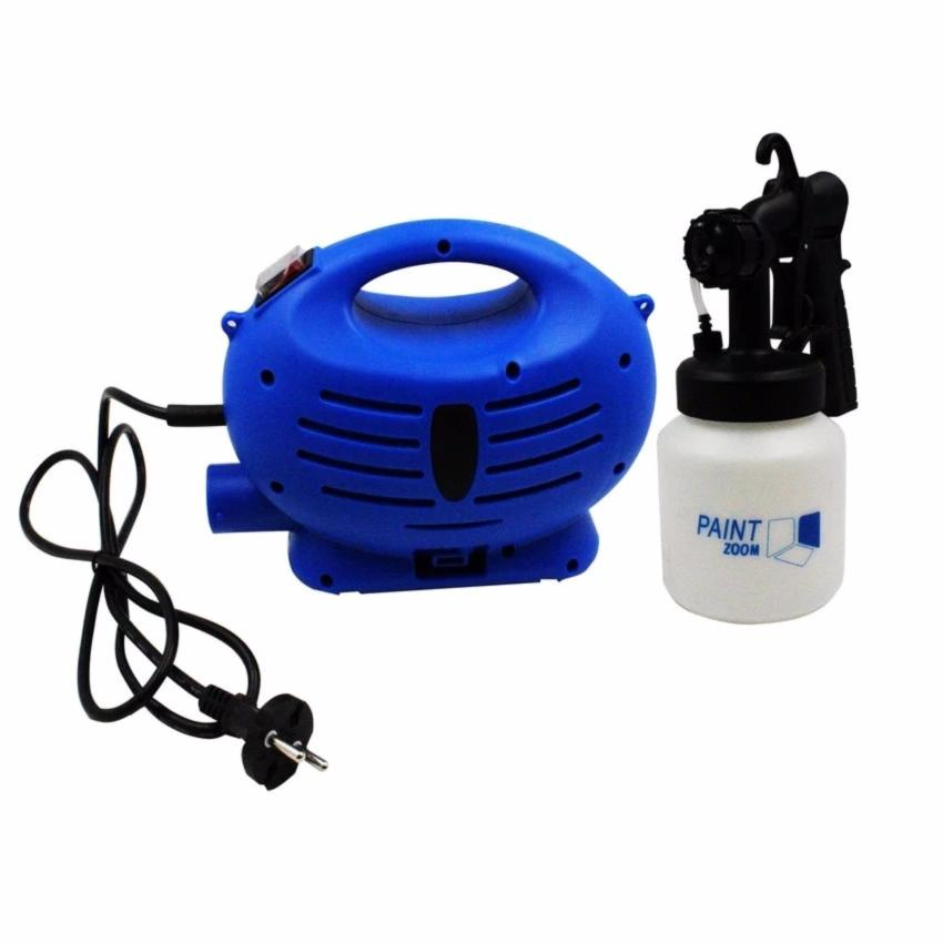 Paint Zoom Professional Electric Paint Sprayer Paint Gun with 3 WaySpray(Blue) Price Philippines