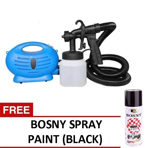 Paint Zoom Sprayer (Blue) with FREE Bosny Spray Paint (Black) Price Philippines