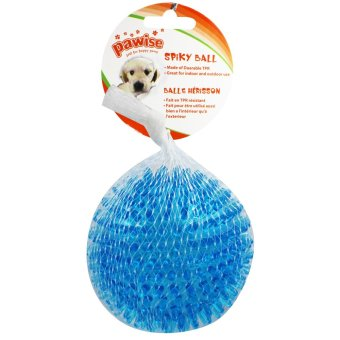 Pawise Spikey Ball Dog Toy (Blue)