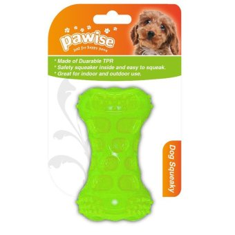 Pawise Squeeky Bone Dog Toy (Green) Price Philippines