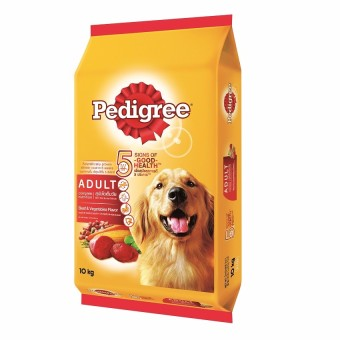 Pedigree Adult Beef & Vegetable Dry Dog Food 10kg