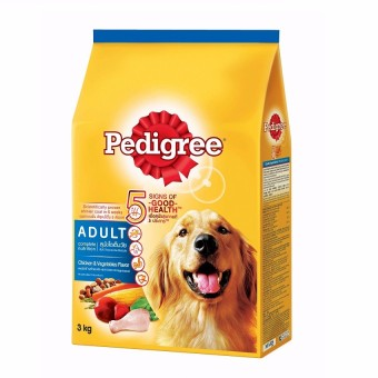Pedigree Adult Chicken & Vegetable Dry Dog Food 3kg