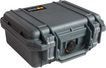 Pelican 1200BLK Small Case with Foam (Black)