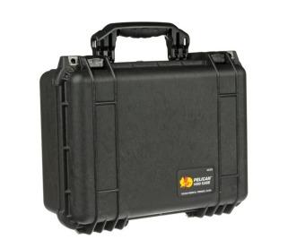 Pelican 1450BLK Medium Case with Foam (Black)