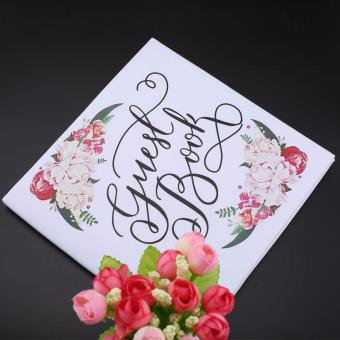Personalized Guest Book Calligraphy Alternative Guestbook WeddingJournal - intl