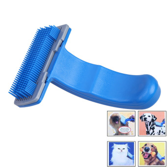 Pet Dog Cat Fur Hair Grooming Self Quick Clean Shedding Tool Brush Comb S