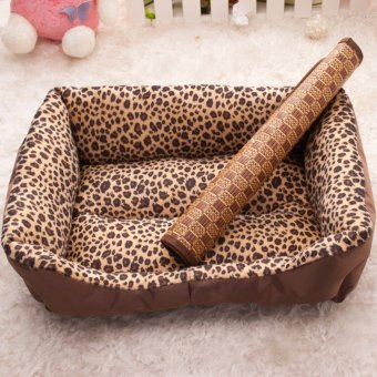 Pet Dog Cat Hot Summer Cooling Bed Straw Bamboo Pad - 4