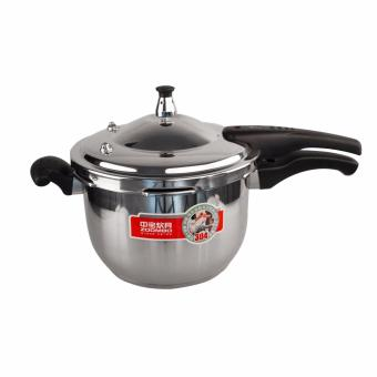 Phoenixhub high quality stainless steel pressure cooker (Silver)