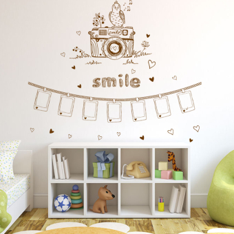 Photo Frame stickers tree waterproof Bizhi Wall