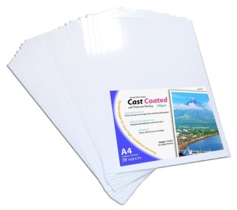 Photo Paper A4 Size 230gsm Glossy Set of 20