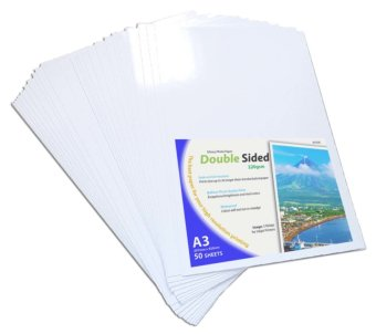 Photo Paper Double Sided A3 Size 220gsm Glossy Set of 50