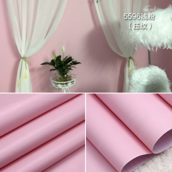 Pink Cabinet table refurbished adhesive paper Wallpaper