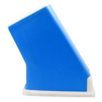 Plastic Tool Holder Knife Block Kitchen Supplies (Blue) Price Philippines