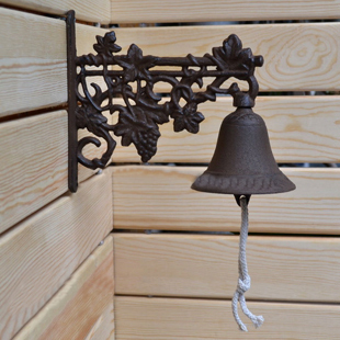 Popular wrought iron doorbell welcome to pendant