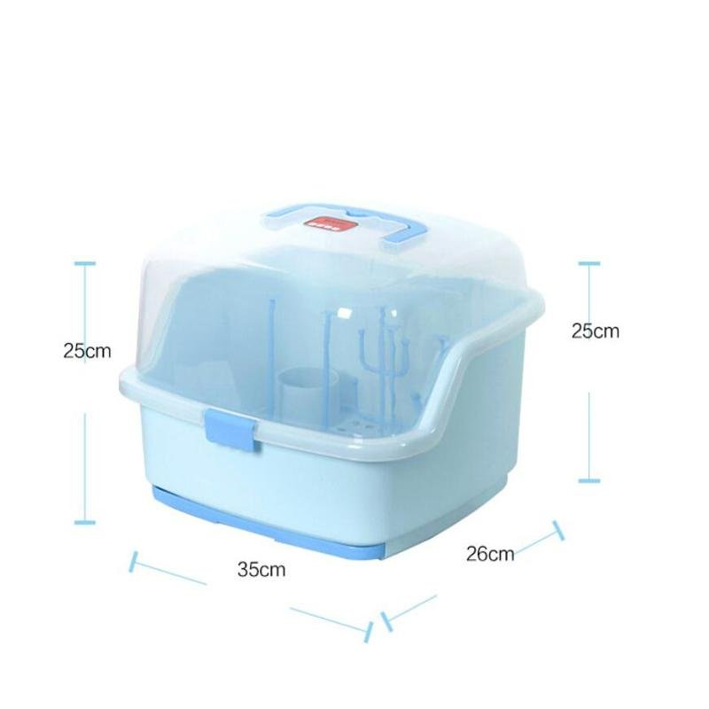 ... Portable Bottle Cup Drying Rack Storage Boxes Baby Bottle DryingRacks  Infant Dryer Clean Bottle Drying Shelf ...