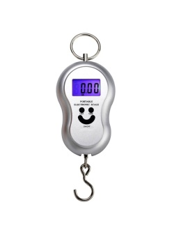 Portable Electronic Handheld Hanging Digital Scale with Batteries