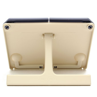Portable Folding Book Stand Reading Desk Documents Holder Book holder Book Stand Blue - 3