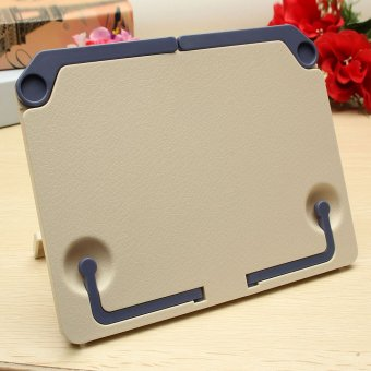 Portable Folding Book Stand Reading Desk Documents Holder Book holder Book Stand Blue - intl